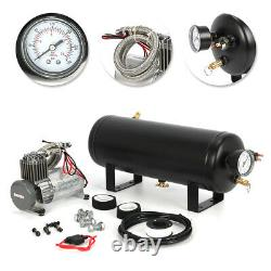 1.5 Gallon 150PSI Air Compressor Tank Gauge withOne Set of Components Car Boat