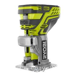 18-Volt ONE+ 18-Gauge Cordless Brad Nailer with Fixed Base Trim Router Tools Only