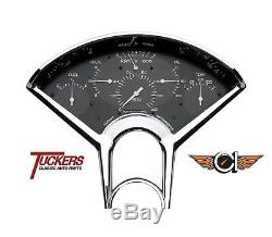 1955-56 Chevy Bel Air 210 Bel Era 6-in-One Car Pkg Classic Instruments BE01BB