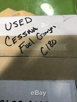 2 Cessna 180 Scott Fuel Sight Gauges. One New And One Used