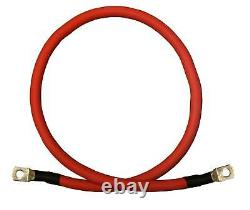 2 Gauge AWG Battery Cable Wire Solar Marine Power Inverter Car Pure Copper