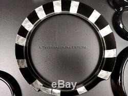 2001-2006 BMW MINI Cooper/S/ONE R50 R52 R53 BLACK Interior Dial Trim Kit 12pc