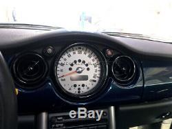 2001-2006 BMW Mini Cooper S ONE R50 R52 R53 Schwarz Innen Anzeige Rand Satz 12st
