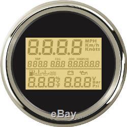 3.35'' Super Multifunctions Gauges GPS Speedometer Hourmeter Water Temp Gauge