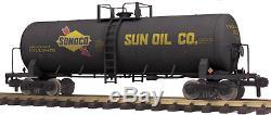 70-73046 MTH ONE GAUGE- Sunoco (#48479) Unibody Tank Car