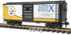 70-74073 Pittsburgh Steelers G Super Bowl 10 Box Car ONE Gauge