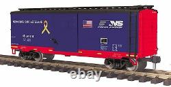 70-74093 MTH ONE-GAUGE Norfolk Southern (#2016101) Veterans 40' Boxcar