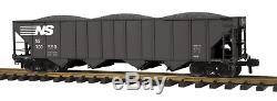 70-75036 MTH ONE GAUGE- Norfolk Southern (#300560) 4-Bay Hopper Car
