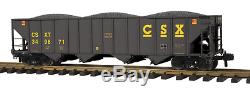 70-75040 MTH ONE GAUGE- CSX (#349871) 4-Bay Hopper Car