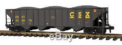 70-75041 MTH ONE GAUGE- CSX (#349876) 4-Bay Hopper Car