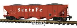 70-75044 MTH ONE GAUGE Santa Fe (No. 81863) 4-Bay Hopper Car