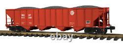 70-75046 MTH ONE GAUGE BNSF (No. 616280) 4-Bay Hopper Car