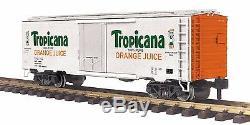 70-78040 MTH ONE GAUGE- Tropicana (#732) Reefer Car