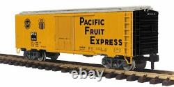 70-78048 MTH G Gauge RailKing One Gauge 40' Reefer Car Pacific Fruit Express