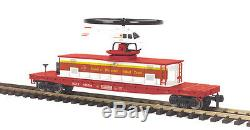 70-79012 MTH ONE GAUGE Red Cross Operating Helicopter Car