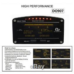 Advance DD Kit 10 in 1 Oil Water Boost Temp Fuel Pressure Gauge EGT Odometer Set