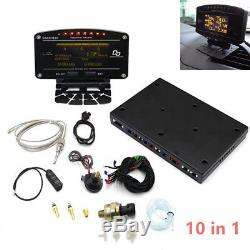 Advance DD Kit 10 in 1 Oil Water Boost Temp Fuel Pressure Gauge Meter EGT Latest