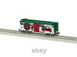 American Flyer 2019550 Christmas Boxcar 2020 NEW S Gauge (MY LAST ONE)