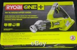 Brand new P591 Ryobi ONE+ 18-Volt 18-Gauge Offset Shear / Cordless Metal Shears