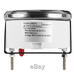 Car 85mm GPS Digital Speedometer Stainless Waterproof Gauge 120KM/H Speed Meter