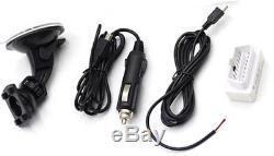 Car Dash Race Display OBD2 Bluetooth, Dashboard LCD Screen Digital Rally Gauge