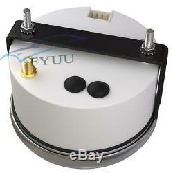 Car GPS Speedometer Tachometer Hour Water Temp Fuel Level Oil Pressure Voltmeter