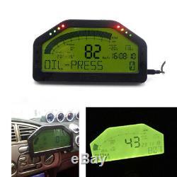 Car Trucks Dashboard LCD Rally Gauge Dash Race Display Bluetooth Full Sensor Kit