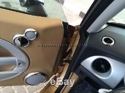 Chrome Interior Dial Kit for 2001-2006 BMW MINI Cooper/ S/ONE R50 R52 R53 25pc