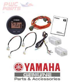 Command Link Single Engine Round One Gauge Kit Yamaha 6Y8-0E83R-81-00