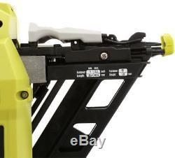 Cordless Angled Nailer 18-Volt ONE+ 15-Gauge AirStrike Staple Gun (Tool-Only)