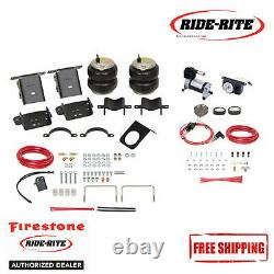 Firestone Ride Rite All in One Air Spring Kit For 2017-2019 Ford SD 4WD With Gauge