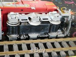 G Gauge Diesel Nib Train Engine Dash 8 Santa Fe Rail King One Gauge New W Book