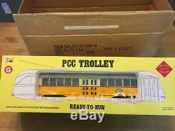 G Scale 129 One Gauge Aristo-craft Mbta Pcc Trolley #3260 New In Package