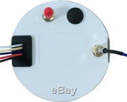 GPS Multifunction Gauge Car Marine Boat Speedometer Odometer Tacho Oil Pressure
