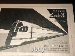 Gauge One Zephyr-cb&q Pioneer Zephyr In G Gauge. 132 Scale