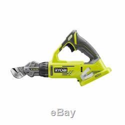 Home Garden Tools Power Ryobi P591 18V One+ 18 Gauge Offset Shears Control Fits