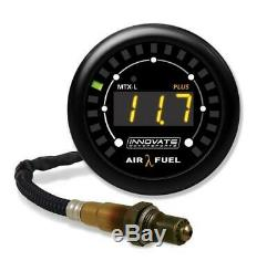 INNOVATE MTX-L PLUS Air/Fuel Gauge Kit All-in-One with O2 Sensor with 8ft Wire 3918
