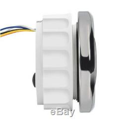 LED Digital 6 in 1 Odometer Speedometer Tachometer Voltmeter Oil Pressure Gauge