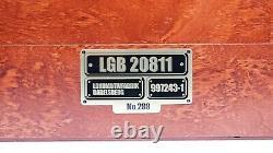 LGB Aster One Gauge HSB 2-10-2 Steam Engine Limited Edition Set 20811 w Case NEW