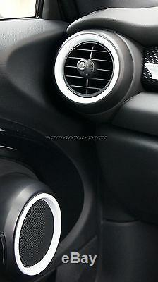 MINI Cooper/S/ONE F55 F56 F57 WHITE Interior Rings for models WithO Navigation XL
