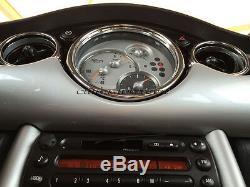 MK1 BMW MINI Cooper/S/ONE R50 R52 R53 Chrome Interior Dial Dashboard Kit 25pc