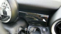 MK2 MINI Cooper/S/ONE R55 R56 R57 R58 R59 BLACK Dashboard Panel Trim Cover RHD
