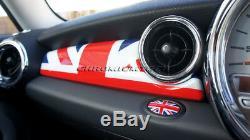 MK2 MINI Cooper/S/ONE R55 R56 R57 R58 R59 Union Jack Dashboard Panel Cover LHD