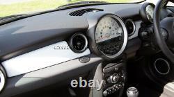 MK2 MINI Cooper/S/ONE R55 R56 R57 R58 R59 WHITE Dashboard Panel Trim Cover RHD
