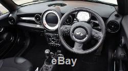 MK2 MINI Cooper/S/One/JCW R55 R56 R57 R58 R59 BLACK Dashboard Interior Ring Kit