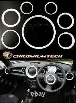 MK2 MINI Cooper/S/One R55 R56 R57 R58 R59 WHITE Dashboard Interior Anello Kit