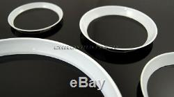 MK2 MINI Cooper/S/One R55 R56 R57 R58 R59 WHITE Dashboard Interior Ring Kit