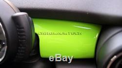 MK3 MINI Cooper/S/ONE F55 F56 F57 GREEN Dashboard Trim Panel Cover for RHD Model