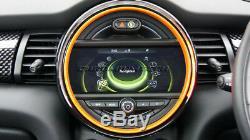 MK3 MINI Cooper/S/ONE F55 F56 F57 ORANGE Interior Rings for models WithO Media XL