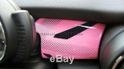 MK3 MINI Cooper/S/ONE F55 F56 F57 PINK Union Jack Dashboard Panel Cover LHD